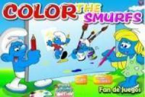 Paint the Smurfs
