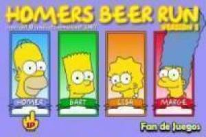 Free Collecting beer homer Game