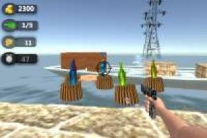Flaschen-Shooter: 3D On Line
