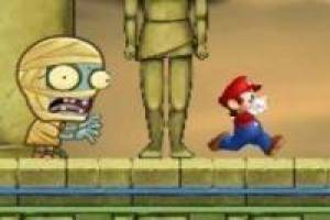 Mario bros runs in Egypte