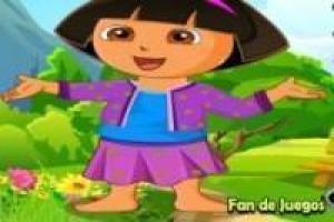 Dora the Explorer dress in het voorjaar