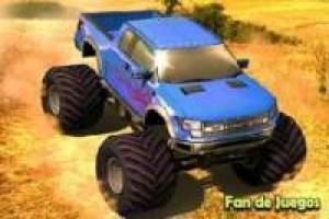 Monster truck 3d: jeu