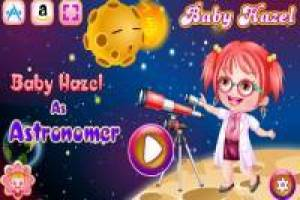 Baby Hazel dresses as an astronomer