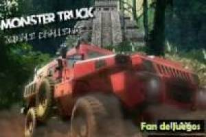Juego Monster truck jungle Gratis