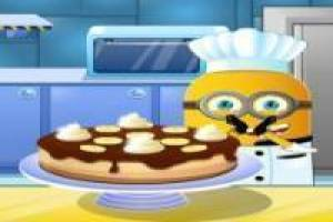 Minions cooking bananas