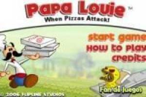 Free Papa Louie Game