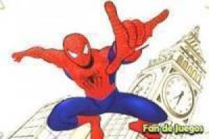 Spiderman para colorir