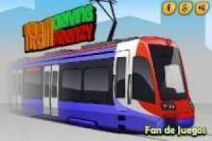 Free Driving tram madness Game