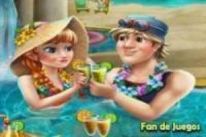 Free Frozen: celebration in the pool Game