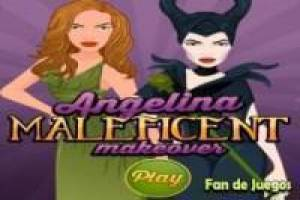 Makeover angelina maleficent