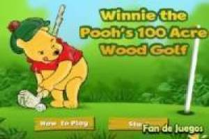Winnie l' ourson de golf mini-