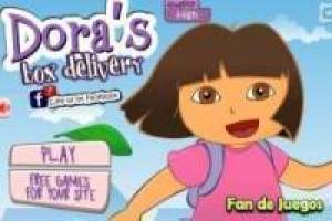 Dora the Explorer and the shopping cart