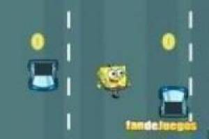 Bob esponja: across road