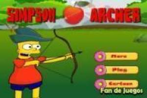 The Simpsons: Archery