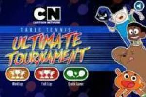 Campeonato de Ping Pong Cartoon Network