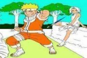 Free Naruto paint Game