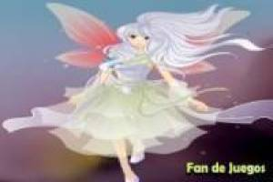 Free Magical fairy dress Game