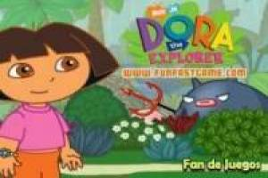 Dora the Explorer: matar insetos na selva