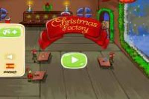 Santa Claus: Toy Factory with Elves