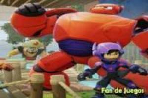 Big hero 6, search and find the hidden letters