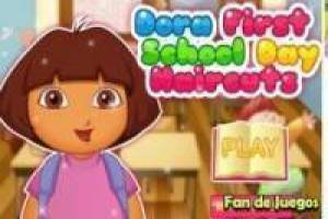 Hairdresser Dora the Explorer