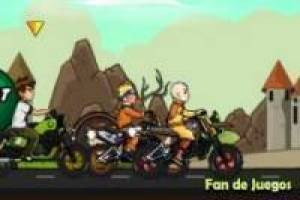 Cartoon: carreras de motos