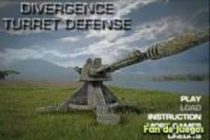 Divergente turret defense