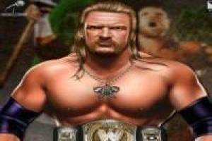 HHH make up the famous wrestling