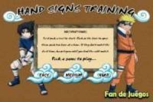 Naruto and hand techniques