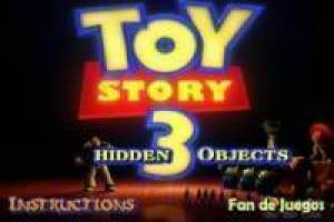 Toy Story 3 searches for objects