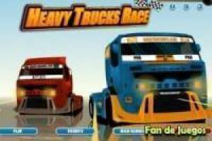 Free Heavy truck race Game