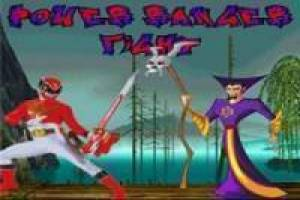 Juego Power Rangers fight Gratis
