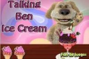 Talking Ben ice cream