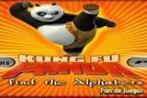 Free Kung fu panda, hidden letters Game