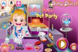 Baby Hazel: Funny Pet Party