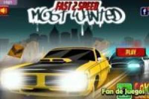 Juego Fast 2 speed ​​most wanted Gratis