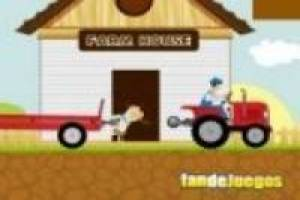 Farm: Red tractor