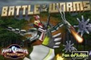 Juego Power rangers battle of the worms Gratis