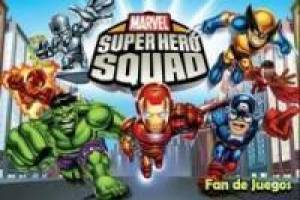 Puzzel van Super Hero Squad