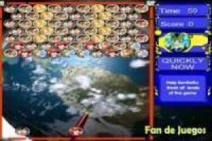 Juego Bubble dragon ball Gratis
