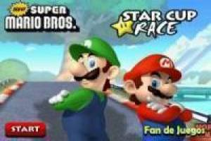 New Super Mario: Motorcycle Racing