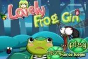 Enchanted frog girl