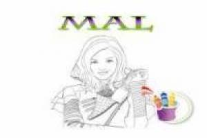 Mal paint online: Descendants