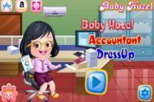 Baby Hazel works as an accountant