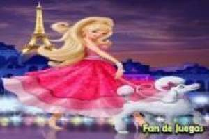 Paris fashion Barbie magic, puzzle