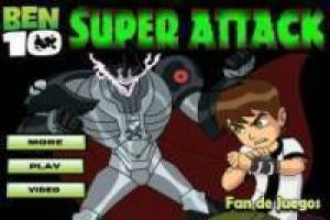 Free Ben 10 super attack Game