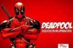 Deadpool looking for hidden numbers