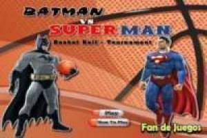 Batman vs superman: Basketbal