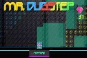 Mr. Dubstep al estilo Geometry Dash