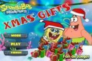 SpongeBob: throw gifts